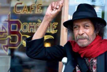 Alfonso Texidor at Cafe La Boheme