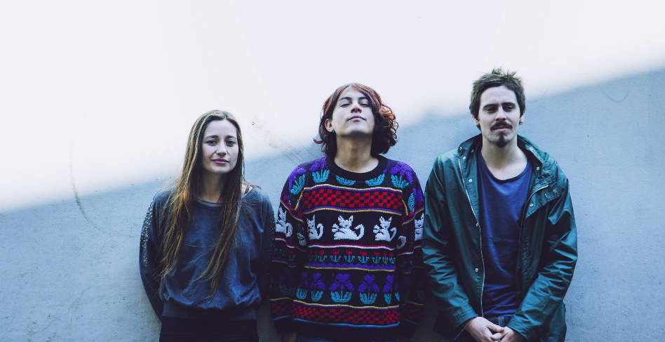 Chilean indie rock band Adelaida.