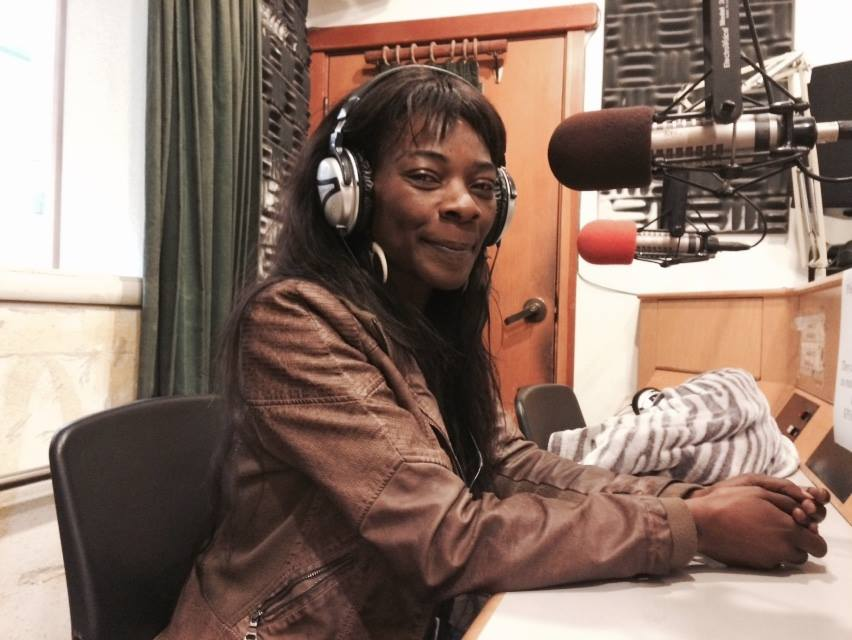 Buika at the KPFA Studios