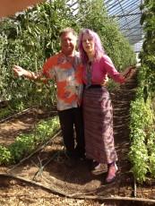 Caroline Casey and David Blune