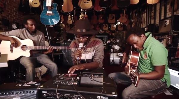Music scene in Nairobi