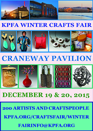 KPFA WINTER ARTS FAIR