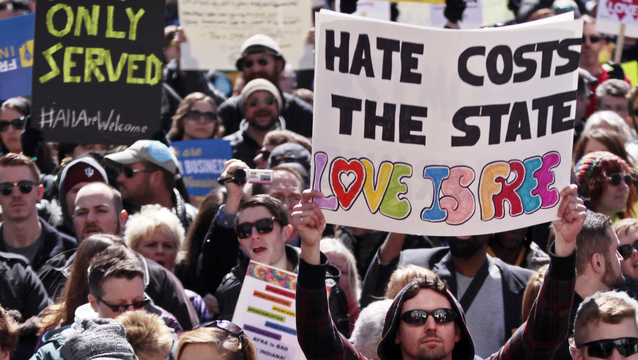 "Public Outcry over Anti-LGBT ""Religious Freedom"" Law"