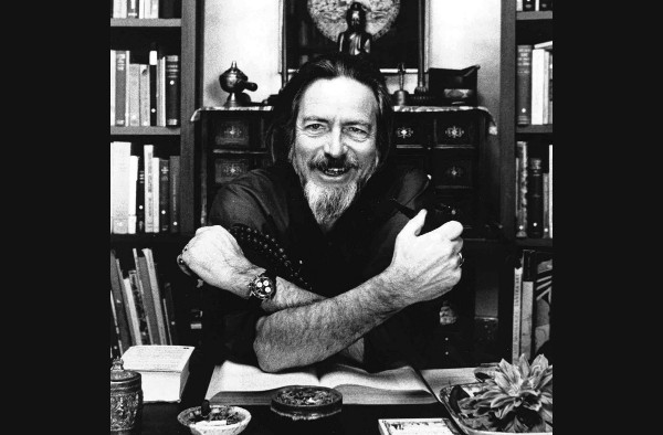 Alan Watts B&W