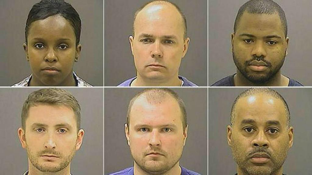 Baltimore Polimen Men Indicted