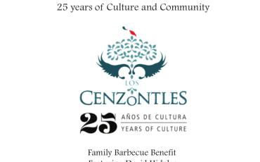 Los Cenzontles 25 Anniv. Sponsors