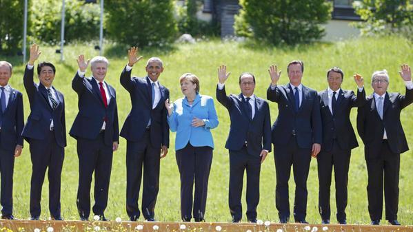 G 7 Leaders