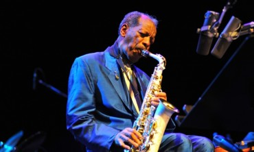 LONDON, UNITED KINGDOM - JUNE 21: Ornette Coleman performs on stage as part of Meltdown at the Royal Festival Hall on June 21, 2009 in London, England. (Photo by C Brandon/Redferns)