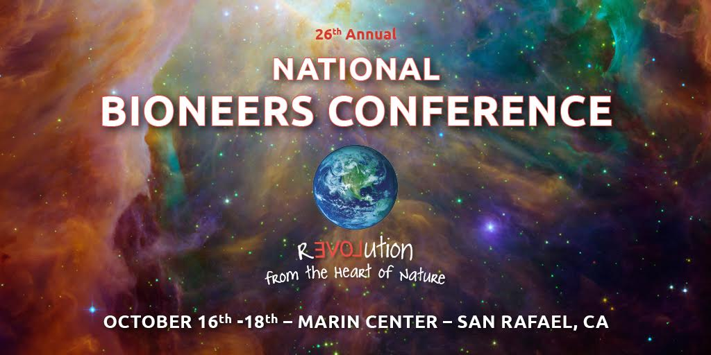 bioneers conference graphic
