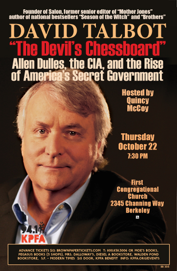 David Talbot in Berkeley