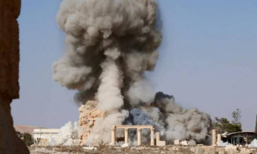 Temple Destroyed by Isis at Palmyra
