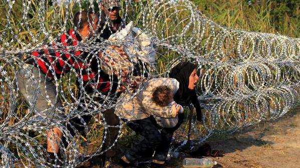 Refugees Head to Europe