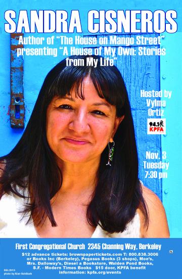 Sandra Cisneros in Berkeley