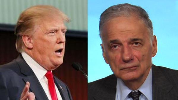 Trump and Nader