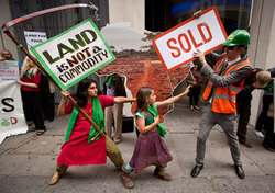 land-grab-stunt-london