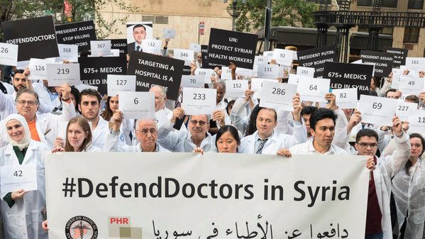 #DefendDoctors  in Syria