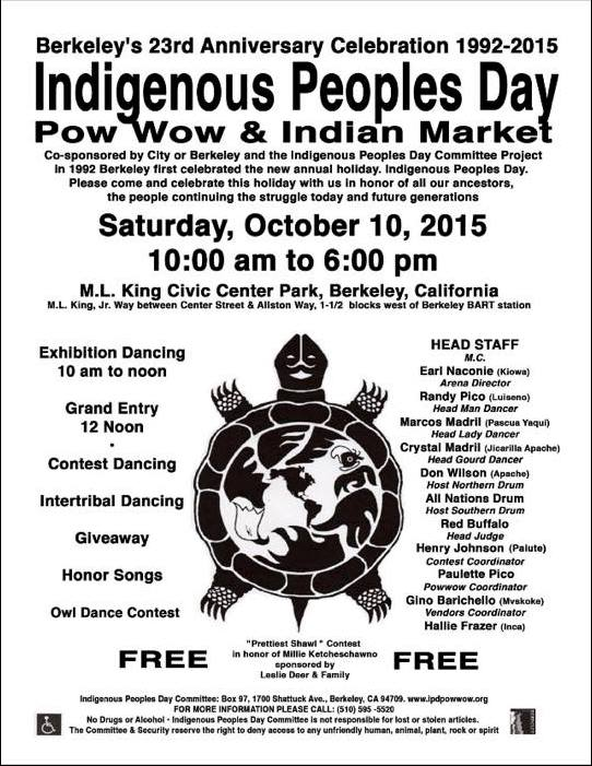 Indigenous Peoples Day Flyer