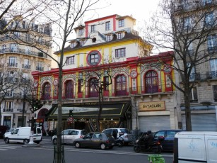 La Bataclan, concert venue which was one of the sites of the terror attacks in Paris Friday night