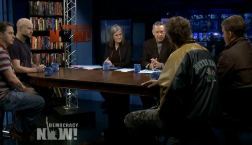 Democracy Now Drone WIstleblowers
