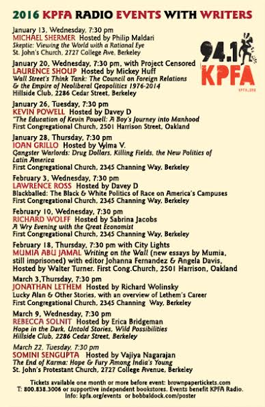 _KPFA Winter Author Events