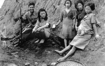 Korean-comfort_women-pregnant-US-archives-photo