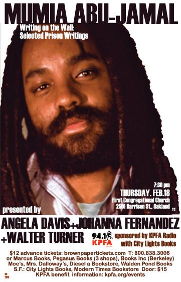 Mumia&Angela Davis in Oakland