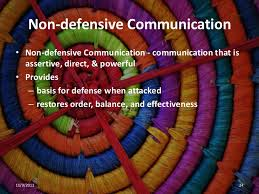 NonDefensiveCommunication