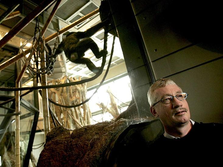 Primatologist Frans de Waal