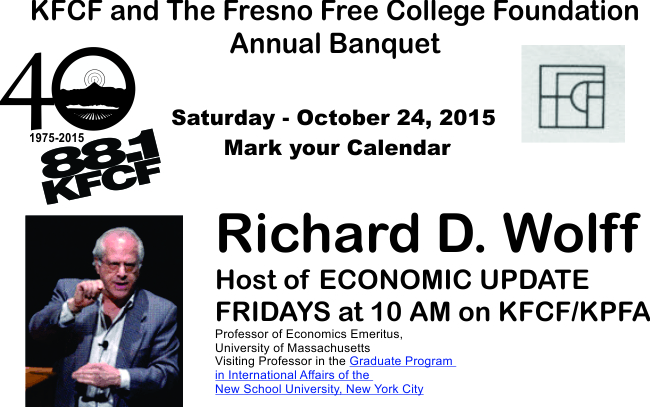 Richard Wolff at KFCF