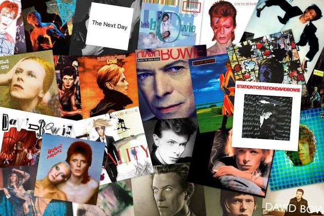 Bowie Discography
