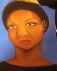 Portrait of Nina Simone