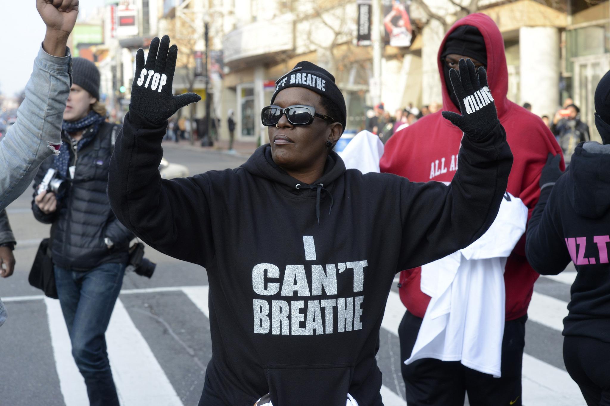 Black Protestor