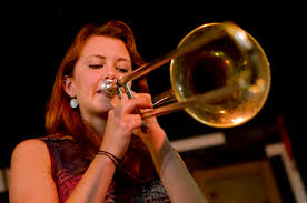 Trombonist Natalie Cressman