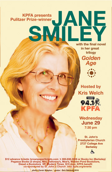 Jane Smiley in Berkeley