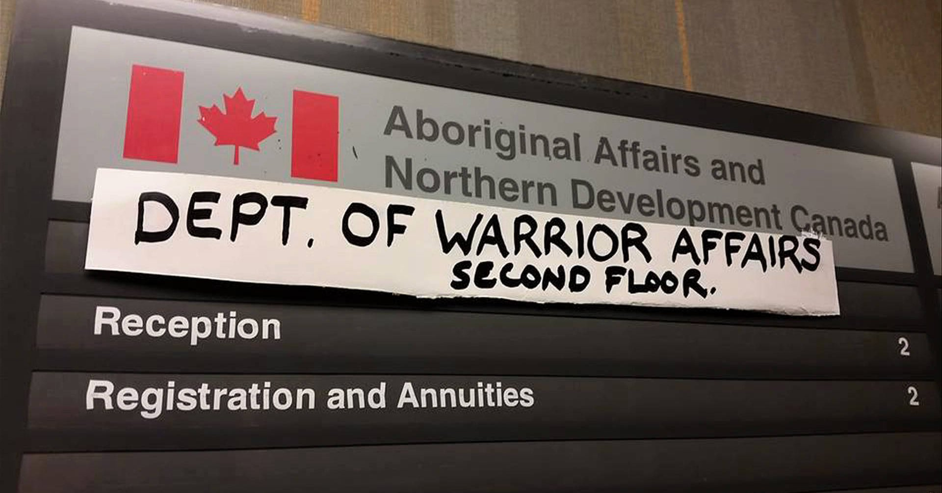 Dept of Warrior Affairs