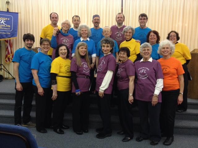 Jewish-Folks-Chorus-t-shirts
