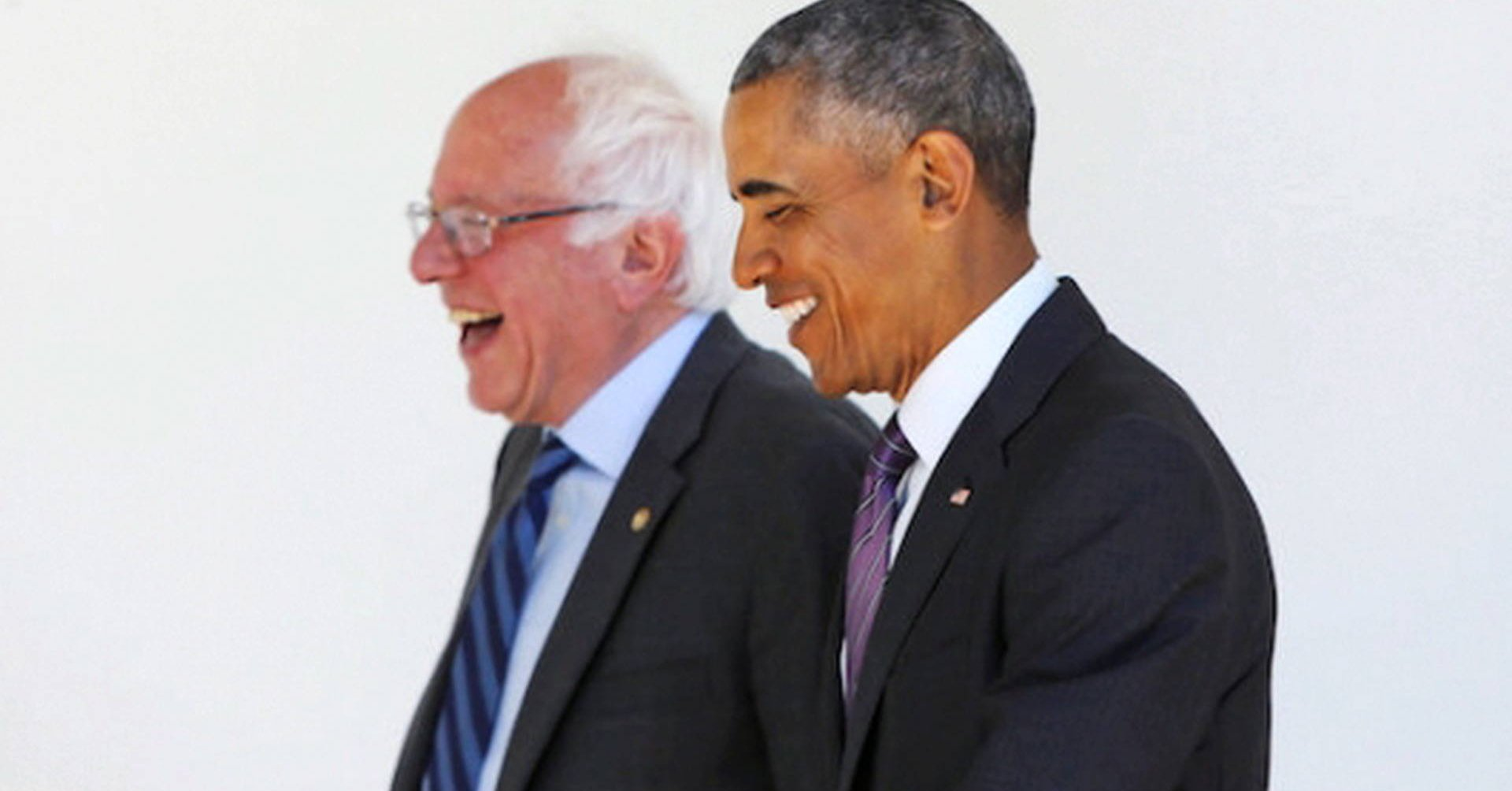 Bernie and Obama