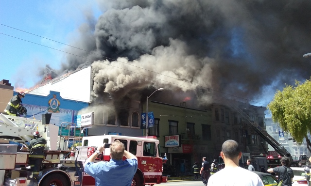 Fire in the Mission