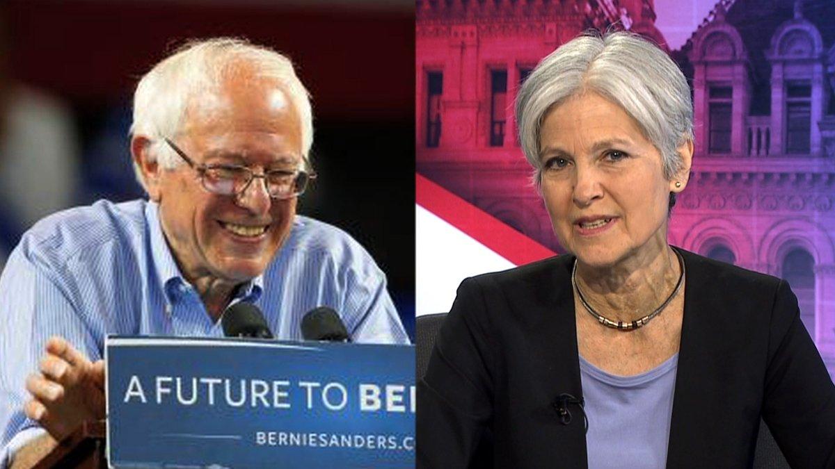 Jill and Bernie