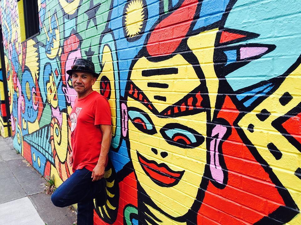 Francisco y mural