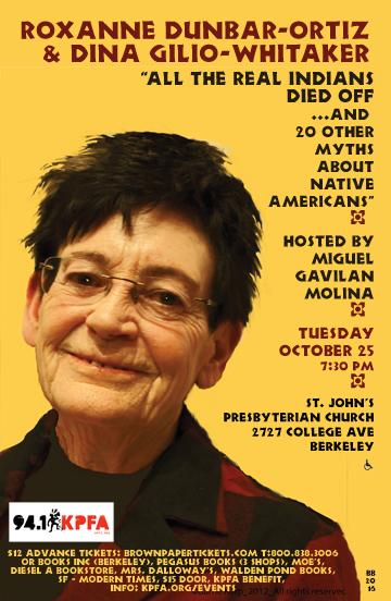 Roxanne Dunbar-Ortiz in Berkeley