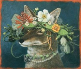 Coyote in the Afternoon - Carolyn Schmitz