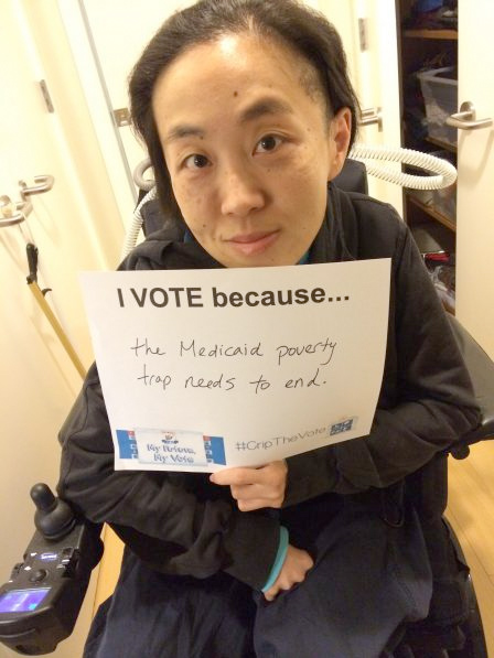 Alice Wong of #Cripthevote.