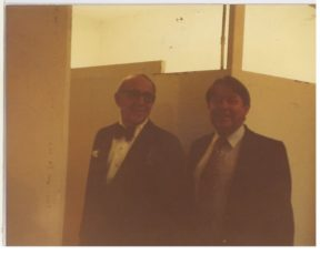 Phil and Benny Goodman. 1980