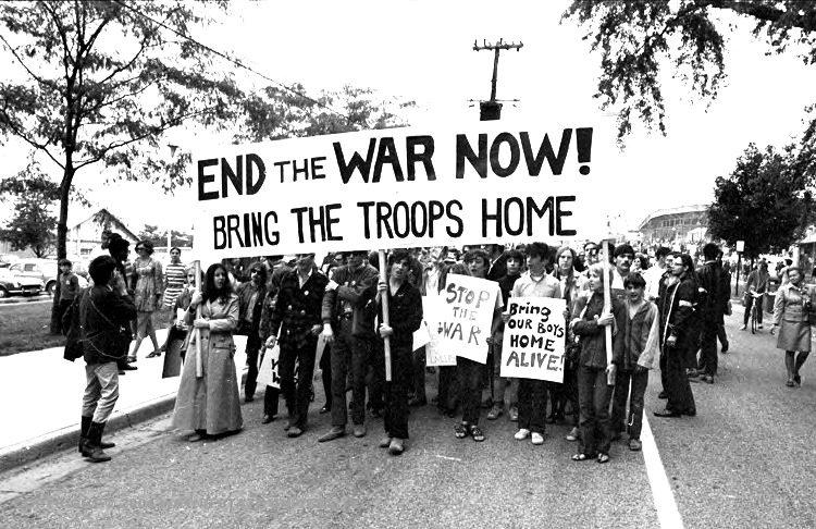 an overview of the series of youth protest of the vietnam war What we didn't fully realize at the time was that this was the first protest against  the vietnam war to take place in the us we only got the full.