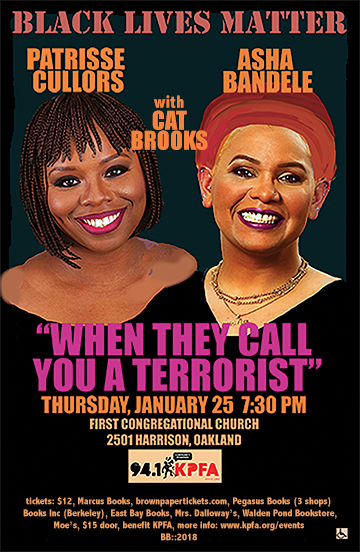 When They Call You a Terrorist: Hosted by Cat Brooks @ First Congregational Church | San Francisco | California | United States