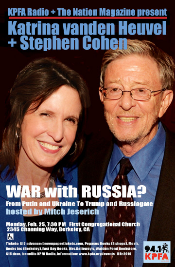 War with Russia From Putin /& Ukraine to Trump /& Russiagate