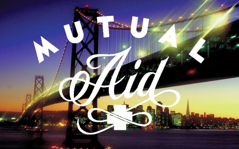 mutual-aid text across bay bridge