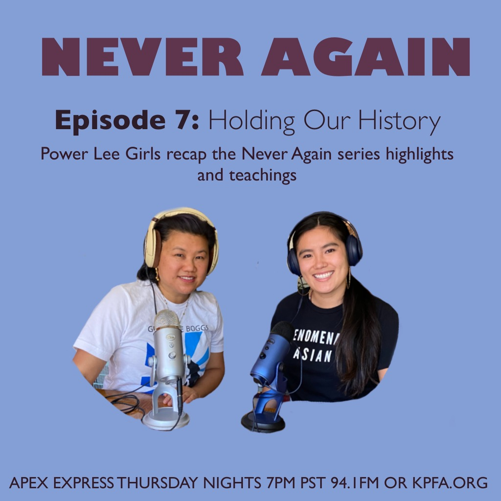 kpfa.org: APEX Express – 8.5.21 Holding Our History
