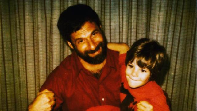 Chesa Boudin and his father David Gilbert